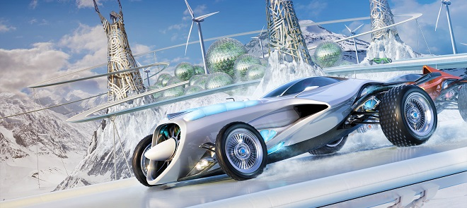 3dsmax概念赛车高级建模