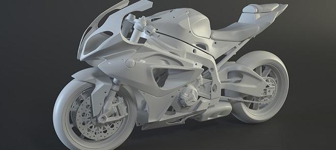 3dsmax摩托车高级建模教程