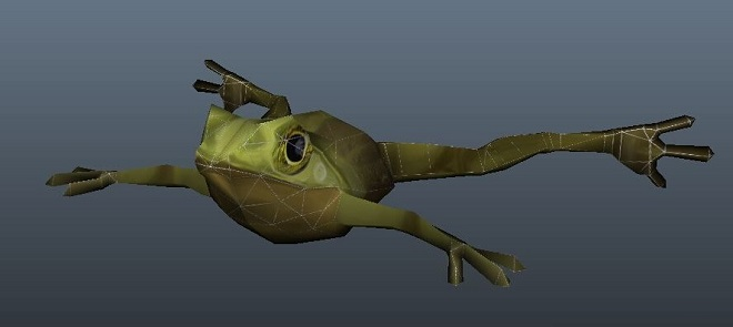 Zbrush4制作青蛙案例