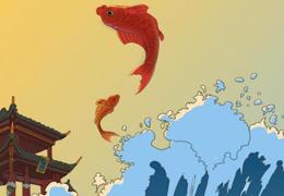 中国传统文化风格动画开场