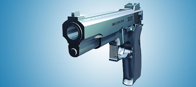 MAYA-左轮手枪模型制作