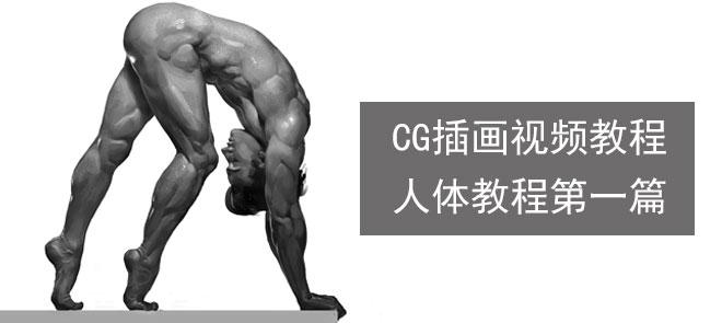 墨一CG插画视频教程 - 人体教程第一篇