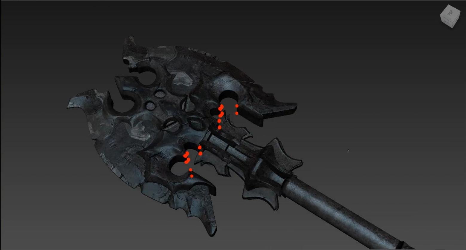 Zbrush Maya影视模型材质基础