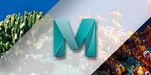 MAYA海底鱼群特效动画全攻略教程