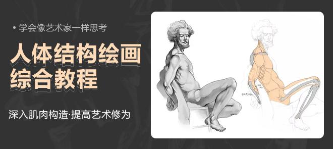 人体结构绘画课程