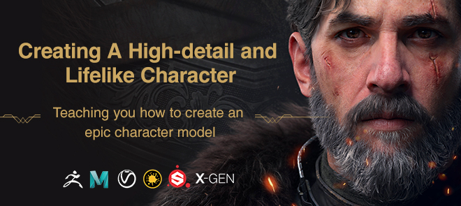 Creating an Advanced Cinematic Character -Vagrant Knight
