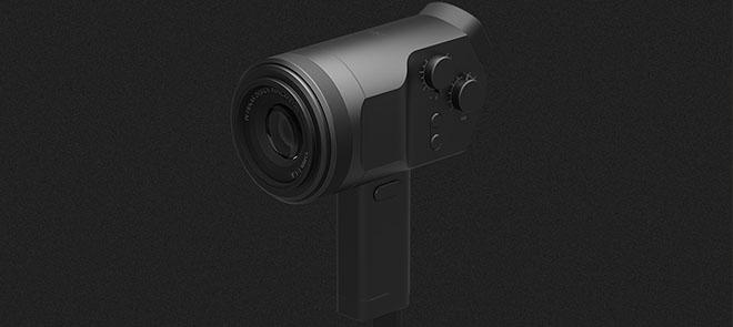 3C数码《手持DV相机》从三视图到建模渲染