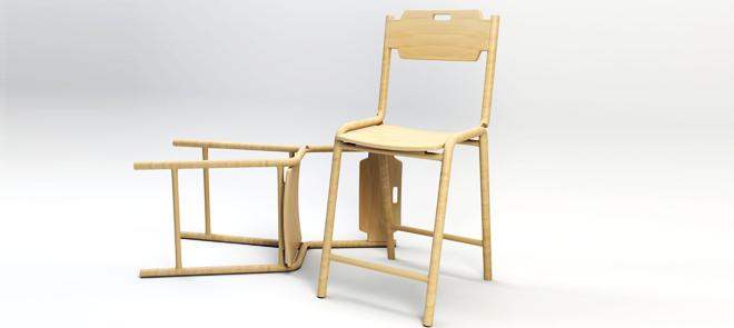 3dsMax小白入门专属《木椅》建模训练教学