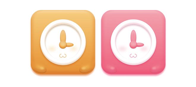 图层样式制作拟物图标《果冻钟表》使你的工作效率提高50%的技巧