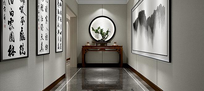 室内渲染《光与影的艺术-廊道》室内场景渲染教学