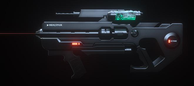 C4D  绝境系列影视级模型拓扑《绝境战枪》建模渲染全流程