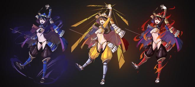 《幻想武士少女》原創日式角色原畫實戰課程