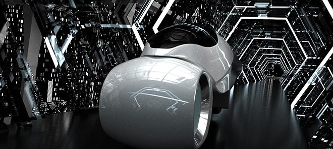 C4D 动态设计《无线蓝牙耳机》概念宣传片全流程设计制作