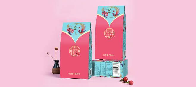 中國風喜慶用品包裝從設計思路到印刷文件的處理【案例實操】