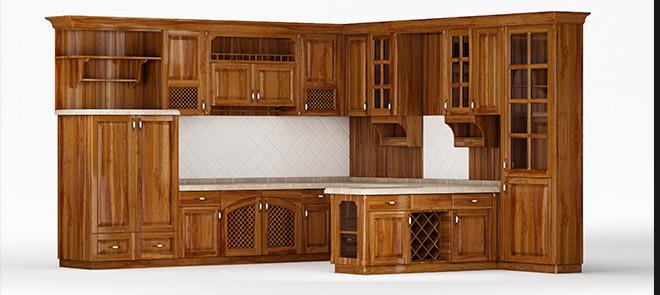 3dmax《全屋定制家具建模-木质橱柜》举一反三案例讲解