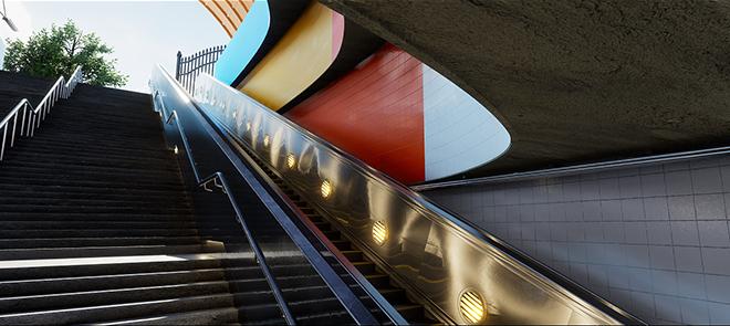 UE4场景制作《地下铁》流程详解