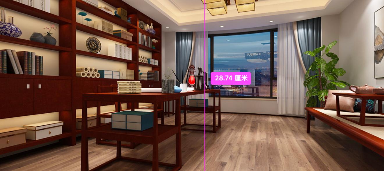 3ds Max室内设计《中式家装-迎客厅全景图》商业案例深入讲解