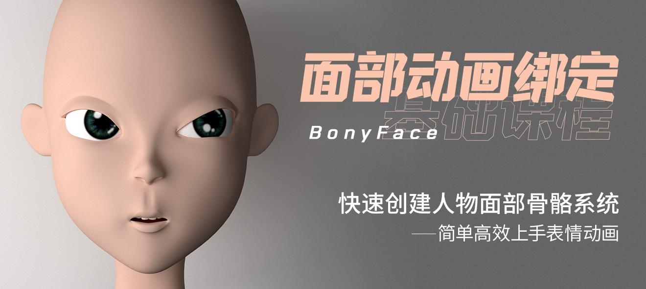 BonyFace - 人物面部动画绑定