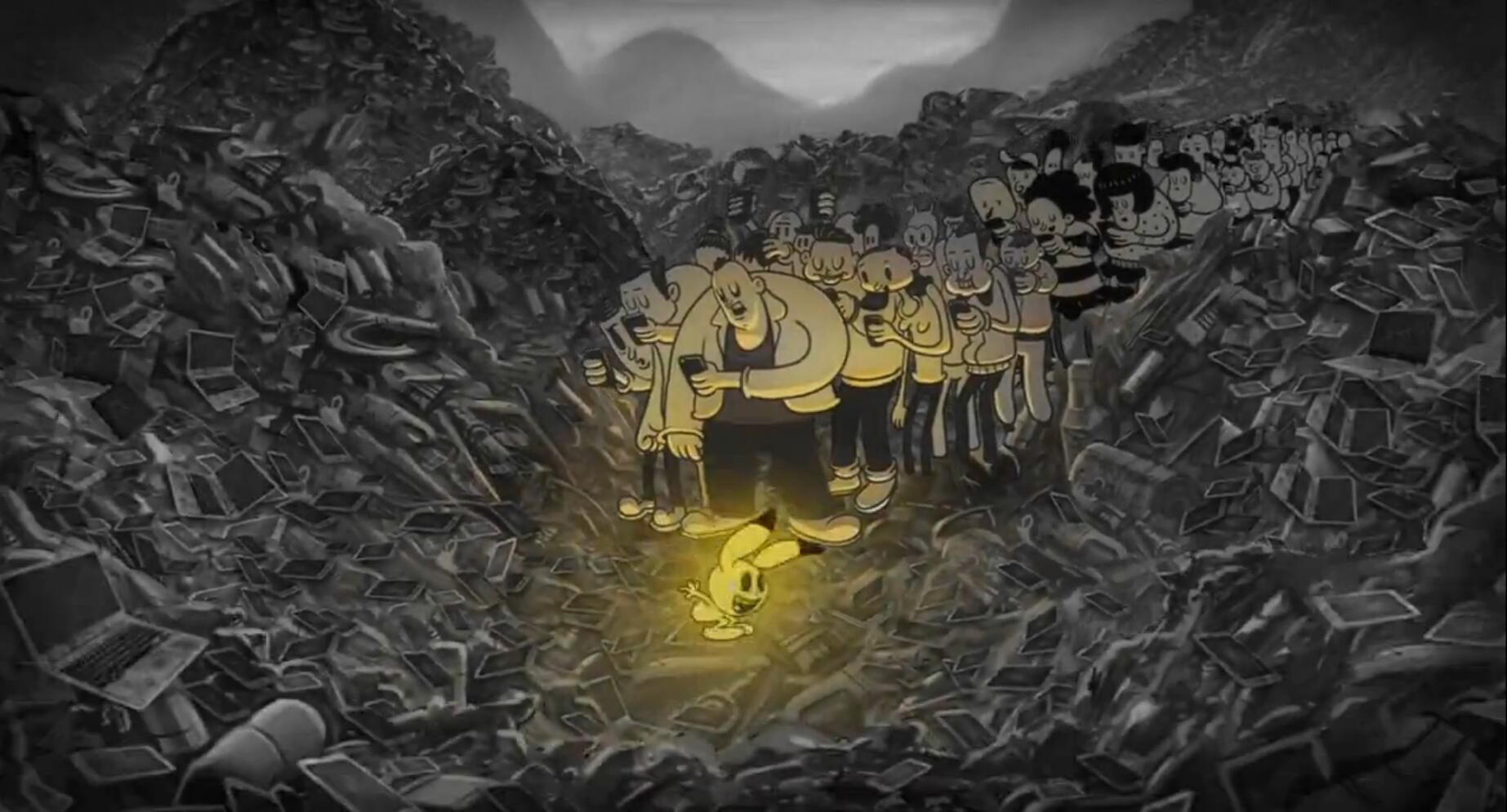 动画短片《如同我一样迷失在这世界中》